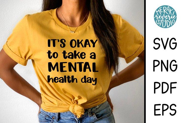 Mental Health Day SVG - Mental Health Awareness example image 1