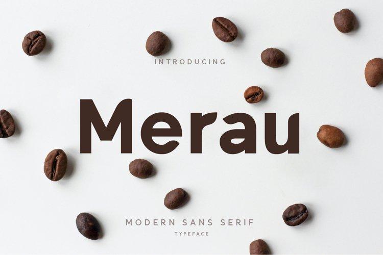 Merau Modern Sans Serif example image 1