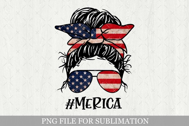 Merica Png Sublimation, 4th Of July, America Patriotic Png