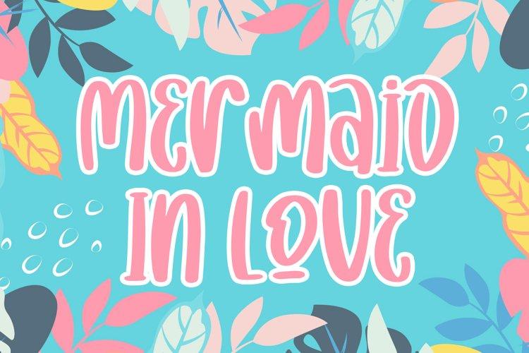 Mermaid In Love example image 1