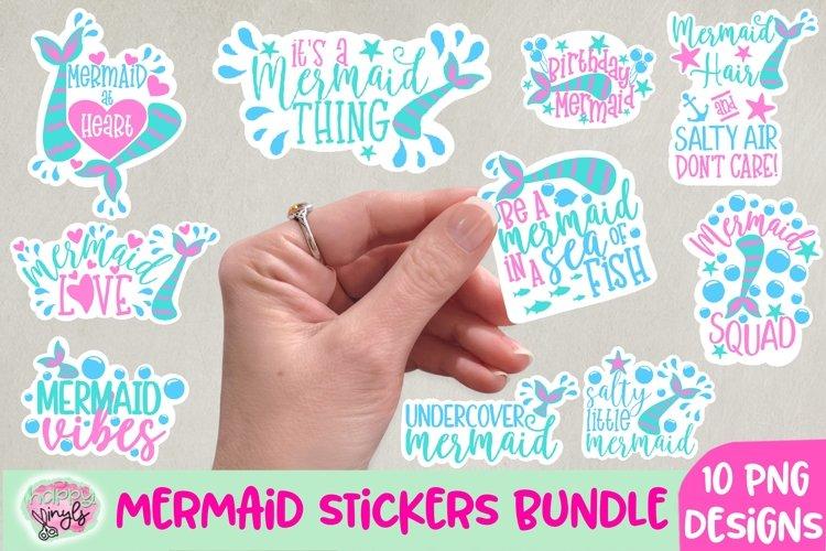 Mermaid Stickers - A Sticker Bundle