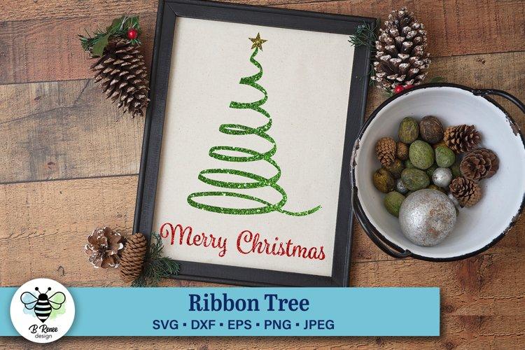 Merry Christmas Ribbon Tree example image 1