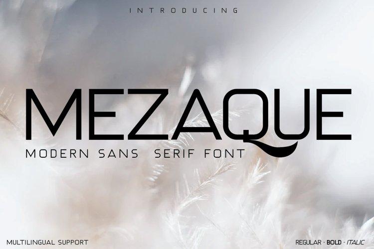 MEZAQUE example image 1