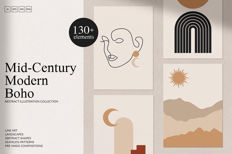 Mid-Century Modern & Boho Set