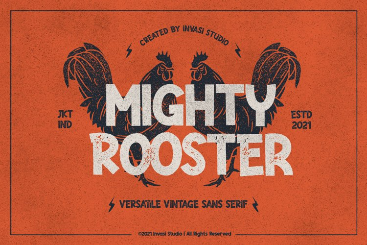 Mighty Rooster - Versatile Vintage example image 1