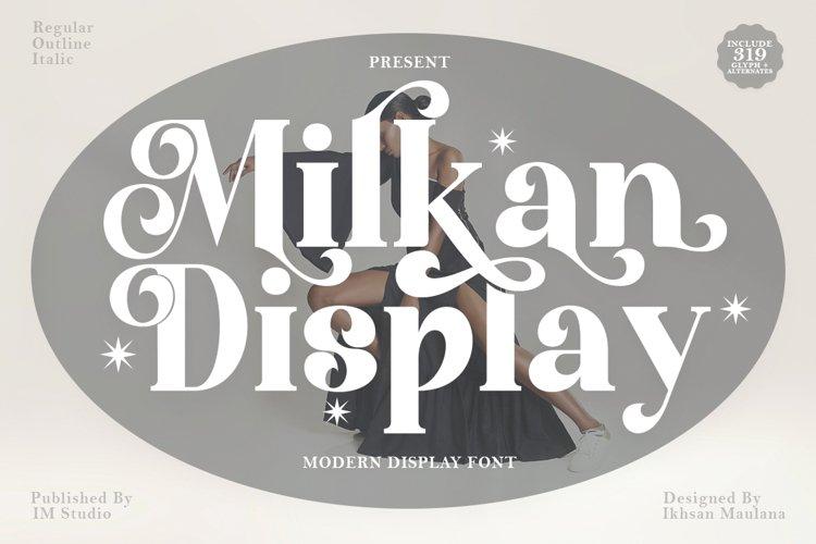 Milkan Display example image 1