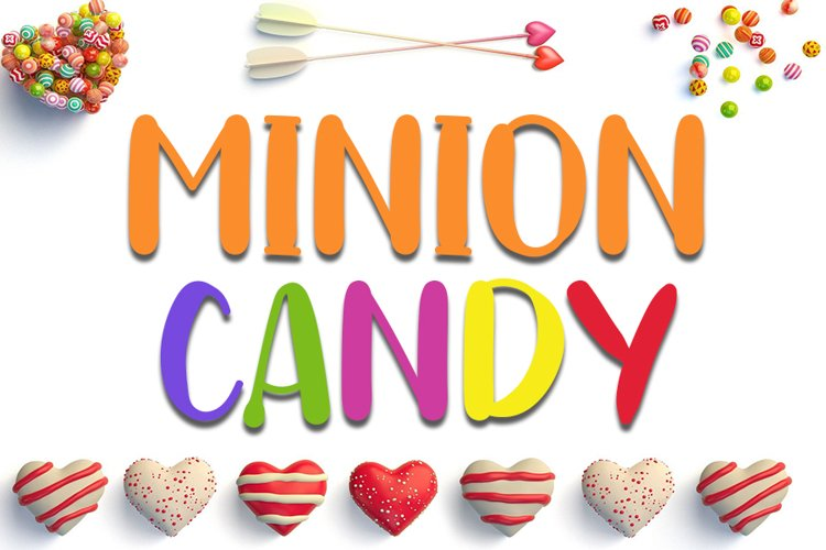 Minion Candy - Lovely Handwritten Font example image 1