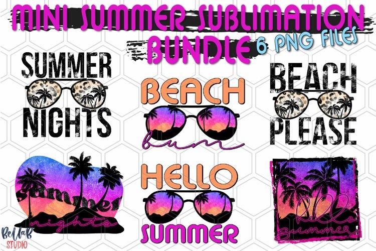 Mini Summer Sublimation Bundle, Hello Summer Bundle