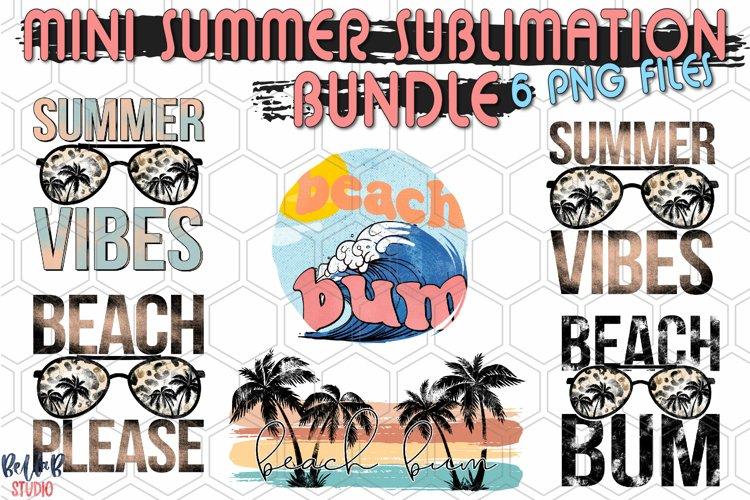Mini Summer Sublimation Bundle, Beach Bum Summer Bundle