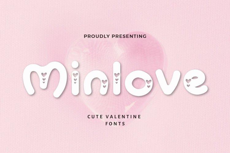 Web Font Minlove - Valentines Font example image 1