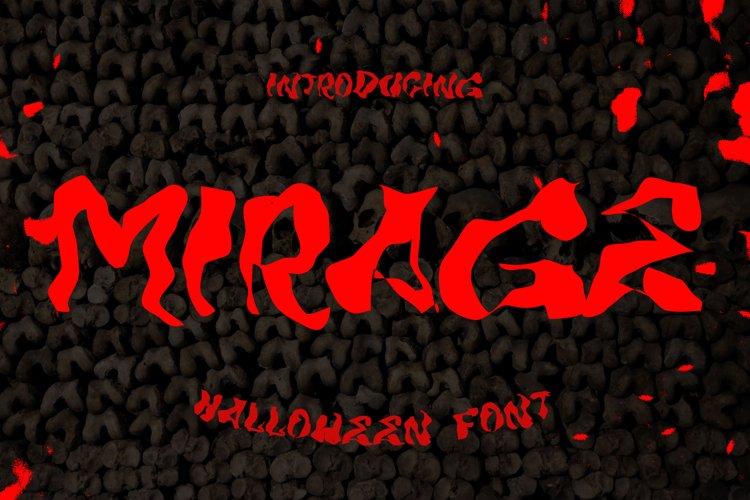 MIRAGE - Halloween Horror Font example image 1
