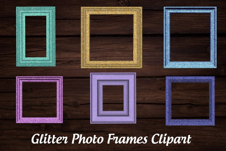 Glitter Photo Frames example image 1