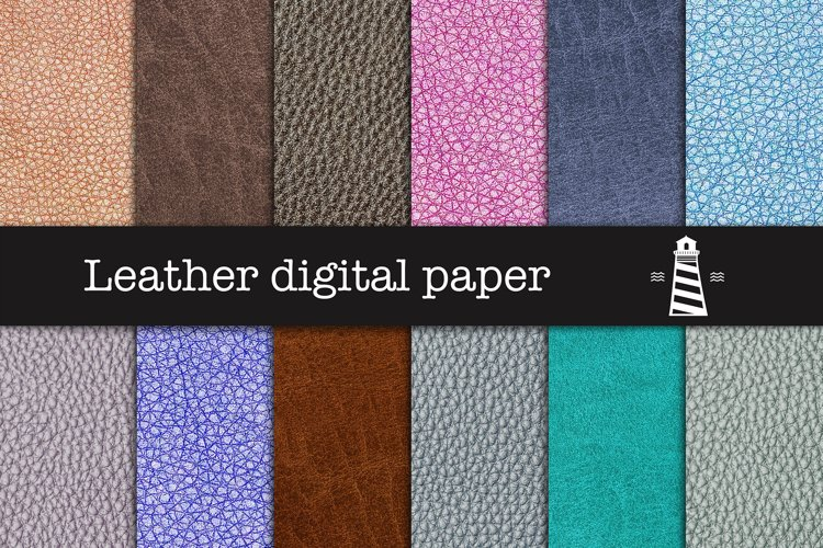 Leather Digital Paper example image 1