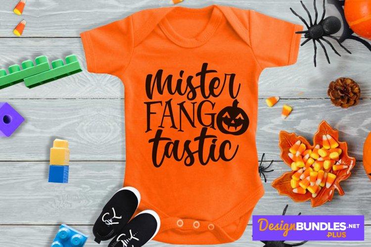 Mister Fangtastic, Jack O Lantern Svg, Cute Pumpkin Svg