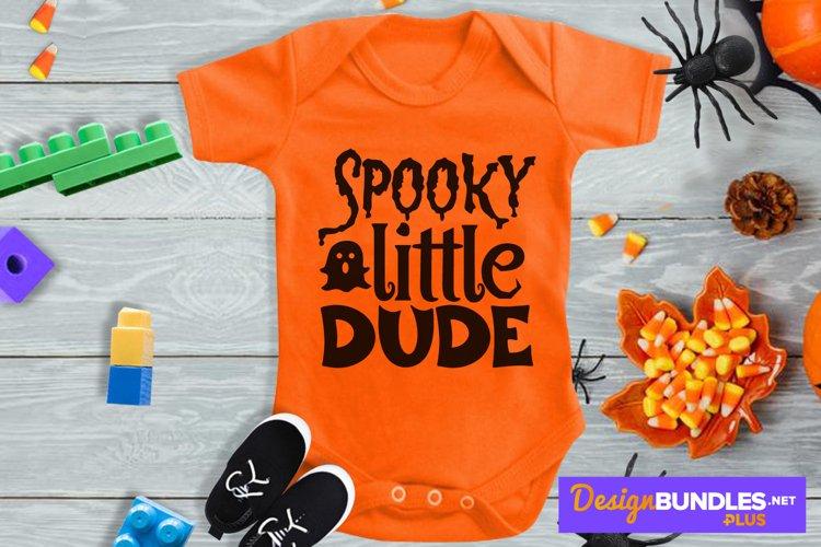 Spooky Little Dude, Jack O Lantern Svg, Halloween Baby Svg