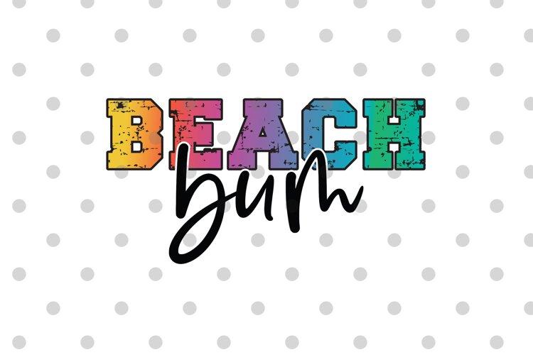 Beach Bum PNG Sublimation file