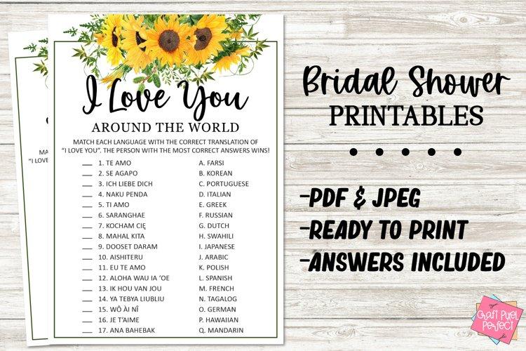Fun Bridal Shower Game, Wedding Game Printable, Party Game