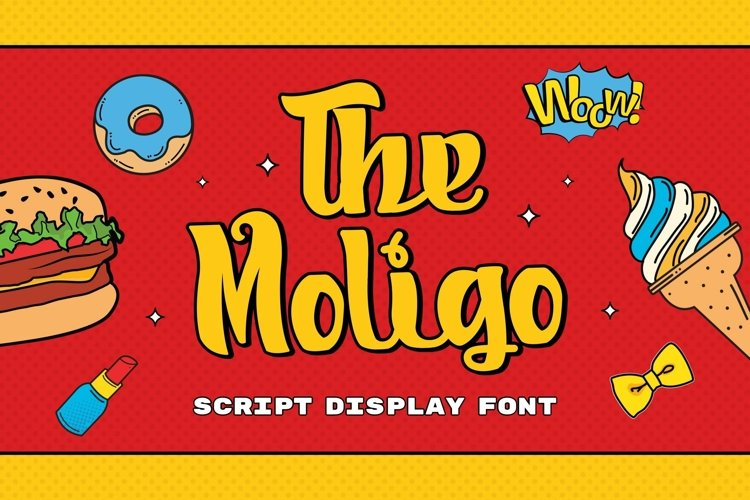 Web Font Moligo - Signature Script Font example image 1