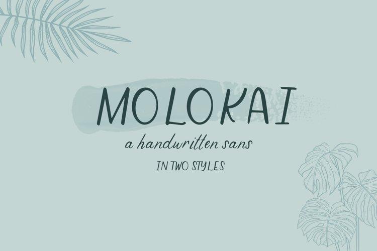 Molokai Sans example image 1