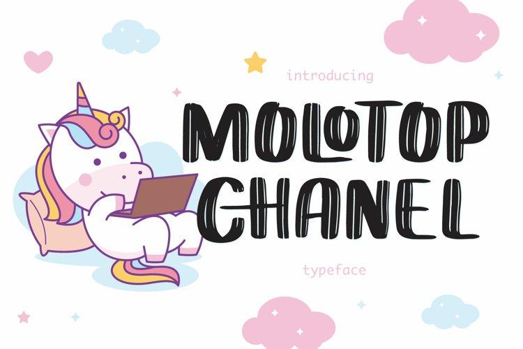 Molotop Chanel example image 1
