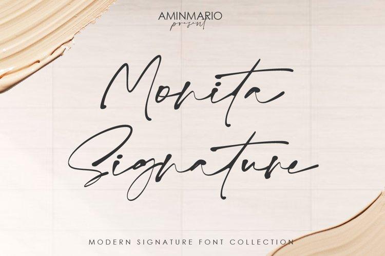 Monita Signature example image 1