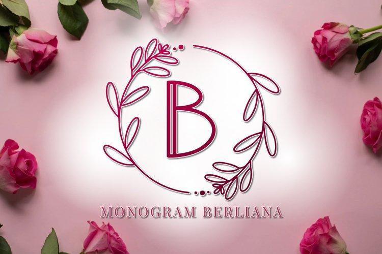 Monogram Berliana example image 1