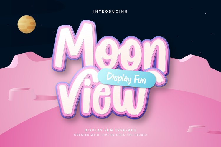Moonview Display Children Fun example image 1