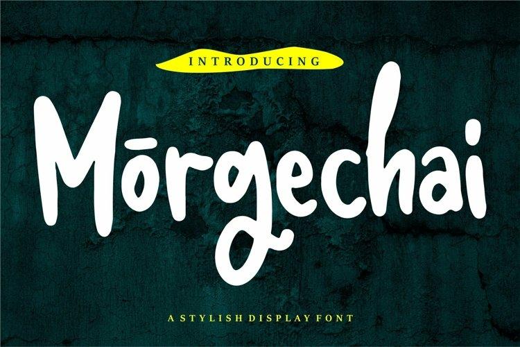Web Font Morgechai - A Stylish Display Font example image 1