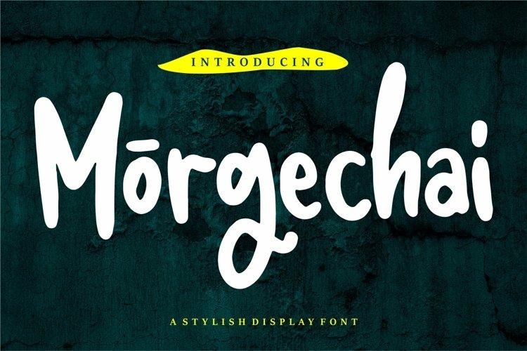 Morgechai - A Stylish Display Font example image 1