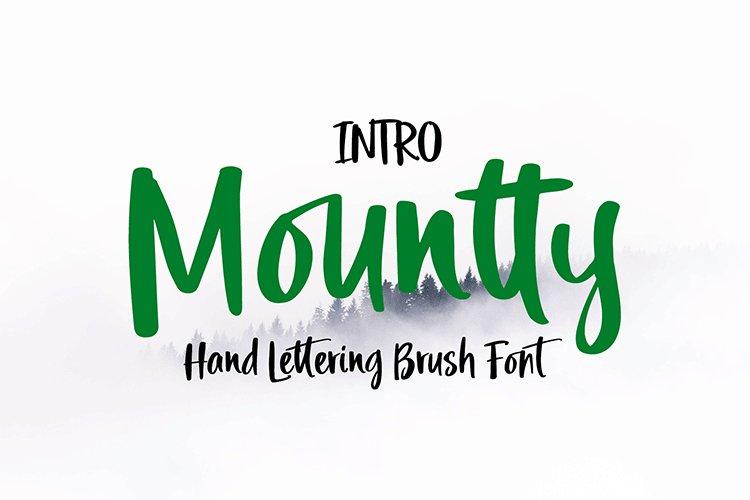 Mountty Brush example image 1