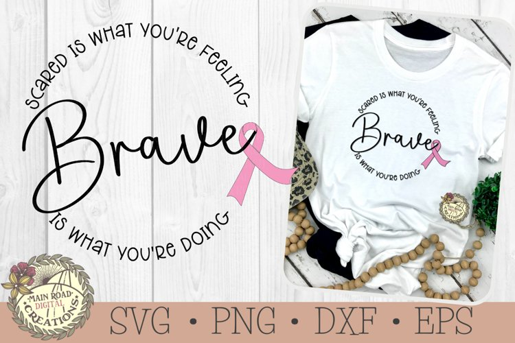 Cancer Ribbon SVG-Brave is what youre doing-Cancer Fighter