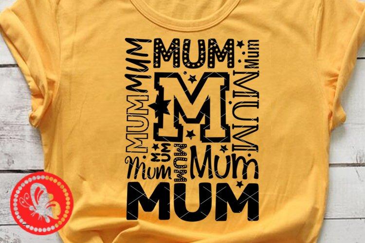 Mum Mum svg Mommy shirt Different fonts Mothers Birthday