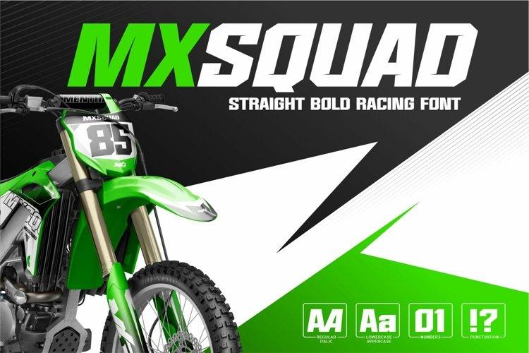 MXSQUAD example image 1