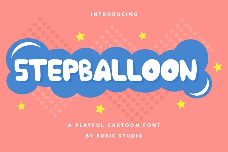 Stepballoon example image 1