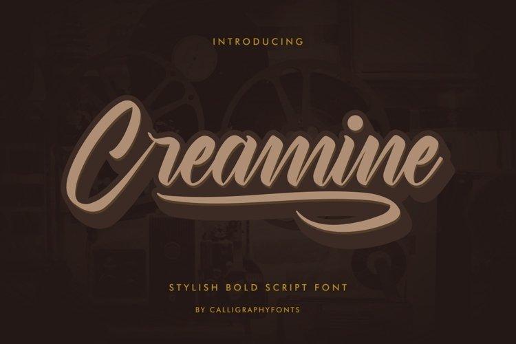 Creamine example image 1