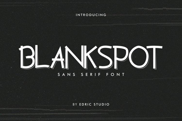 Blankspot example image 1