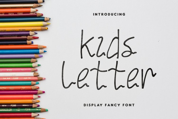 Kids Letter example image 1
