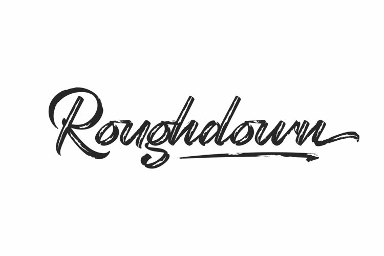 Roughdown example image 1