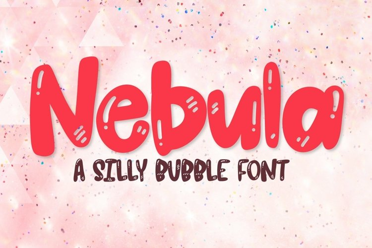 Web Font Nebula - A Cartoon Font example image 1