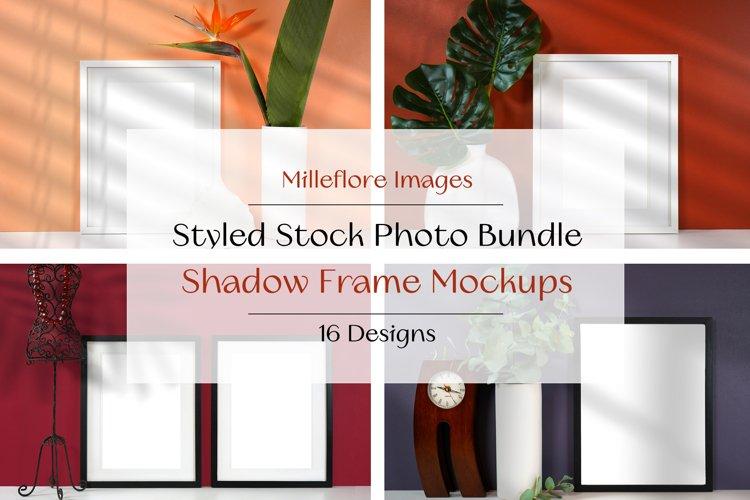 Art SVG Frame Mockup | New Season Colors | Shadow Background