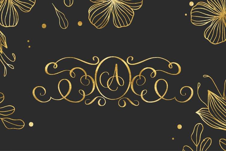 decorative monogram example image 1