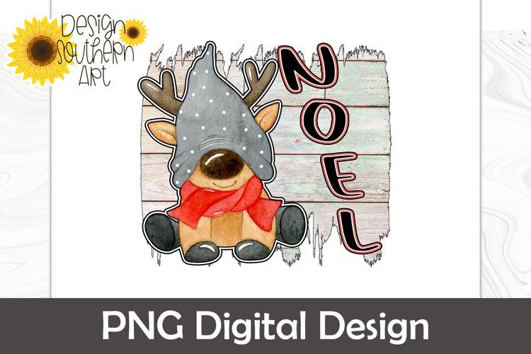Christmas Sublimation - Reindeer Sublimation Design - Noel