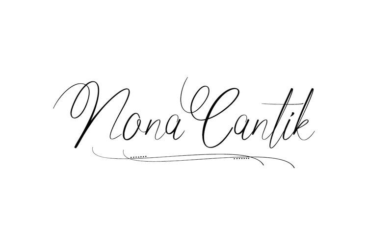 Nona Cantik example image 1