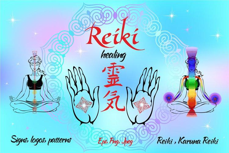 Reiki healing signs, self-healing example image 1