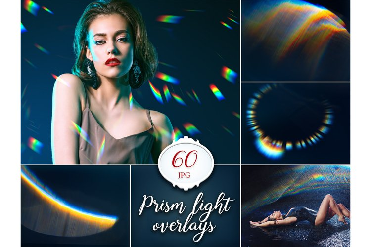 60 Prism Lens Flare Overlays example image 1