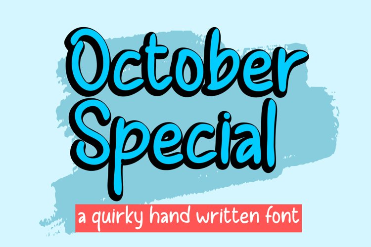 October Special example image 1