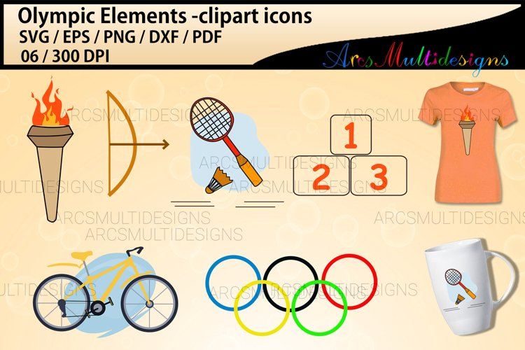 Olympics vector clipart / Olympics svg
