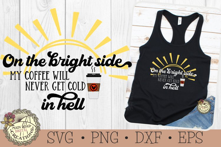Coffee SVG-Sarcastic Coffee Quote-Funny Humor-Coffee Lover example image 1