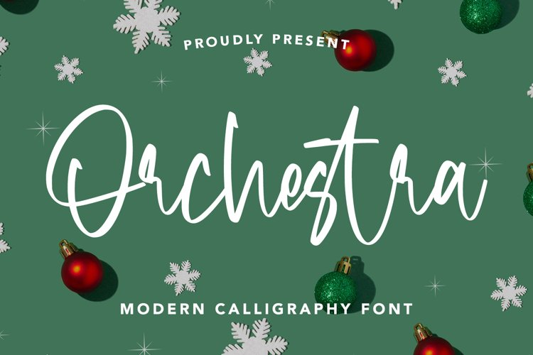 Orchestra - Modern Calligraphy Font