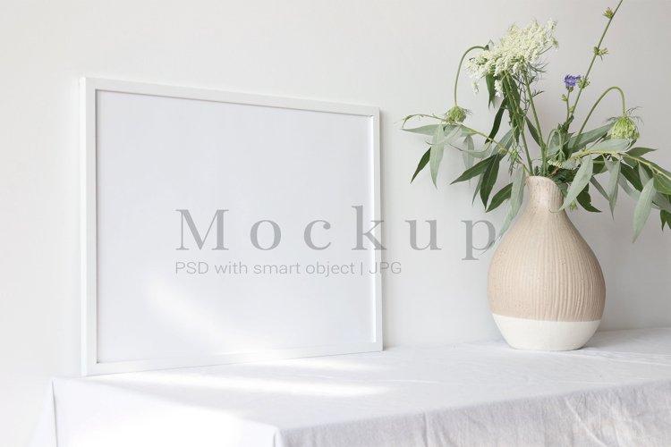 Photo Frame Video Mockup MP4 & PSD